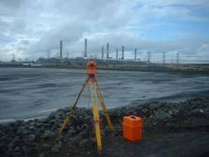 Picture of surveying equipment
